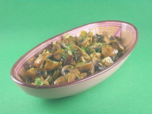 Carmelized Leeks and Mushrooms