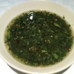 Mixed Herb Chimichurri Sauce Recipe Image