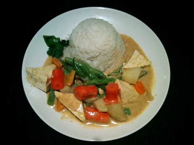 Thai Yellow Curry Recipe Image